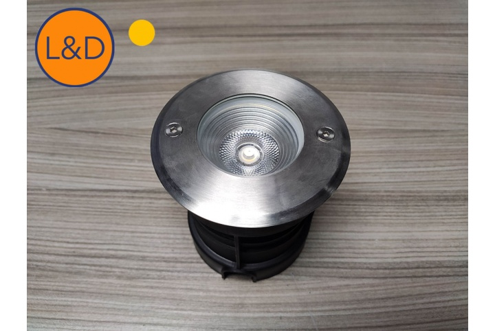 5W In ground LED spotlight integrated LED