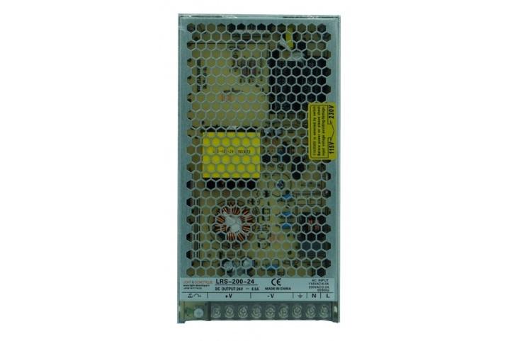L&D 24V DC 8,5A power supply LRS-200-24
