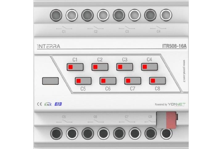 Interra combo actuator 8 outputs ITR508-16A