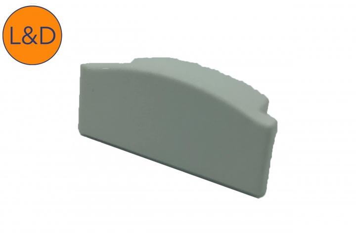 Accessoire bouchon sans trou pour profil ruban blanc IP20