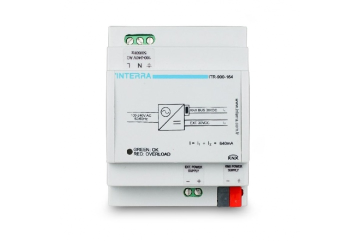 Interra 640mA KNX power supply  ITR900-164