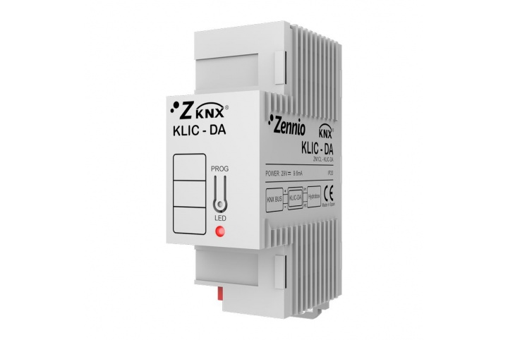 Zennio KLIC-DA Daikin KNX air conditioner controller (Altherma low temperature range) ZN1CL-KLIC-DA
