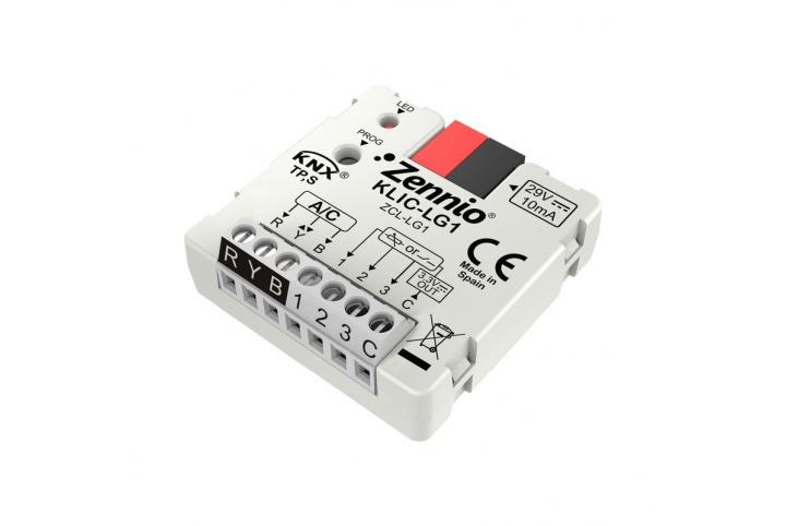 Zennio KLIC-LG1 LG KNX air conditioner controller ZCL-LG1
