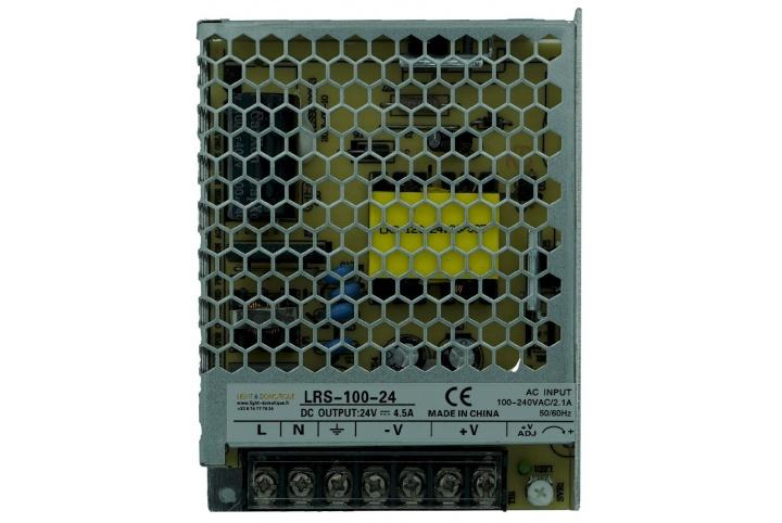 L&D 24V DC 4,5A power supply LRS-100-24