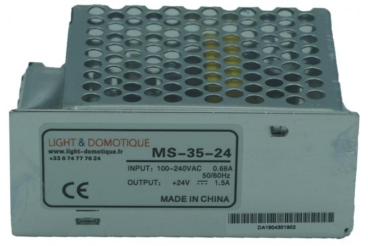 L&D 24V DC 35W 1.5A Power supply MS-35-24