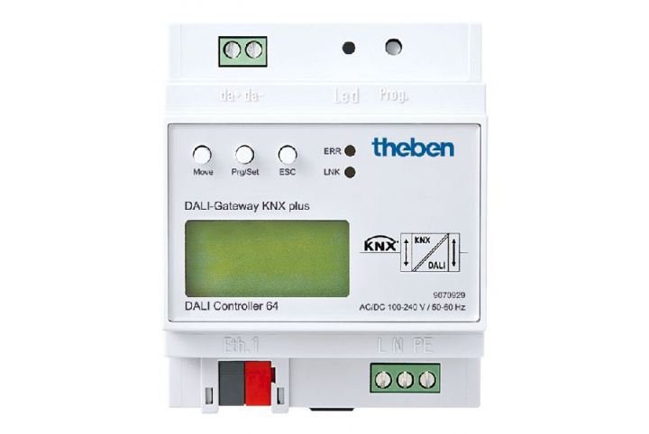 Theben DALI-Gateway KNX plus 9070929