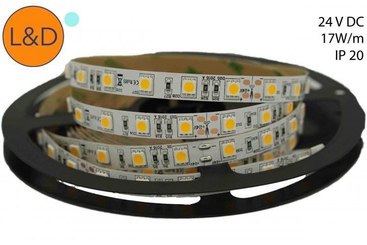 IP20 14W/m Cool white LED strip